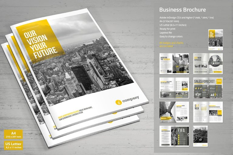 Business Brochure Template