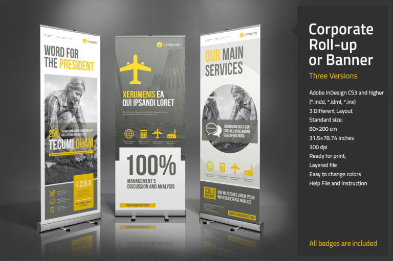 Roll-up Template